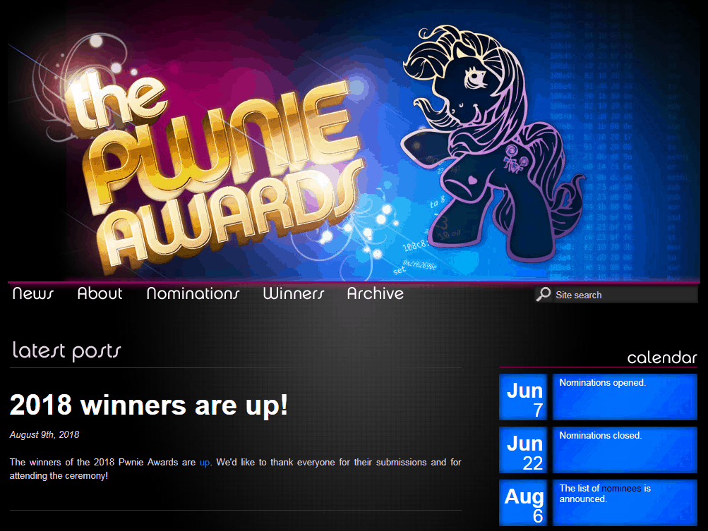 The Pwnie Awards