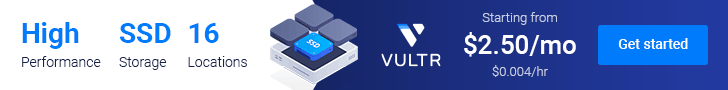 Vultr - Get $50 credit