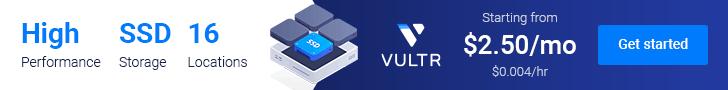 Vultr - Get $50 credit