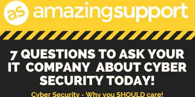 7 Questions To Ask Your IT Company About Cyber Security