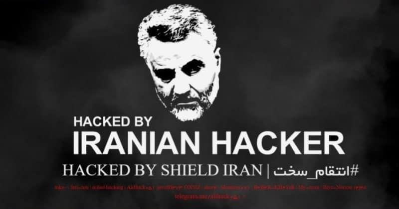 Iran's Hacker Group Hacked US Government Website After Soleimani's Kill