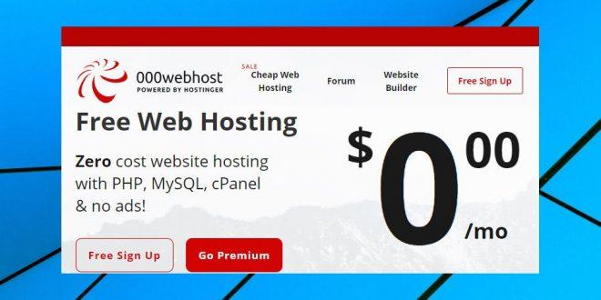 000WebHost Review [Free Web Hosting]