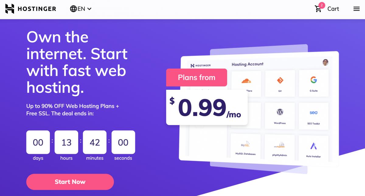 Hostinger Webhosting Company