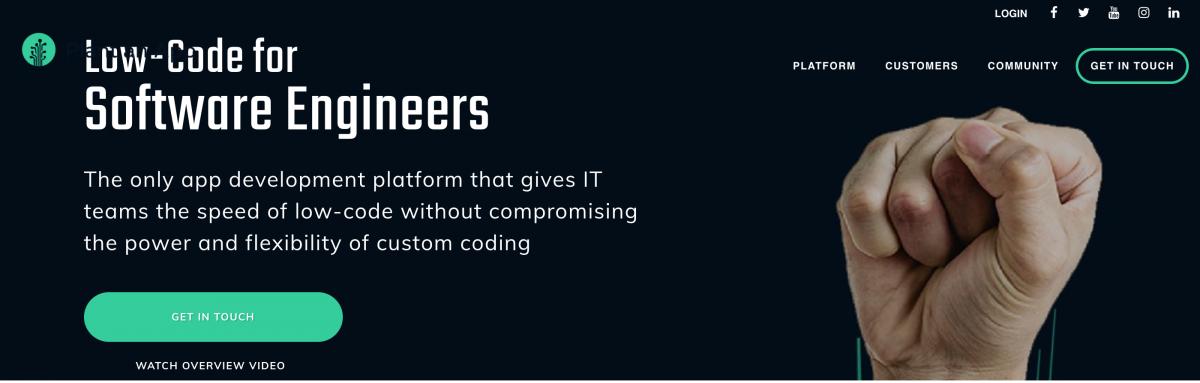 LowCode Development - PlantAnApp